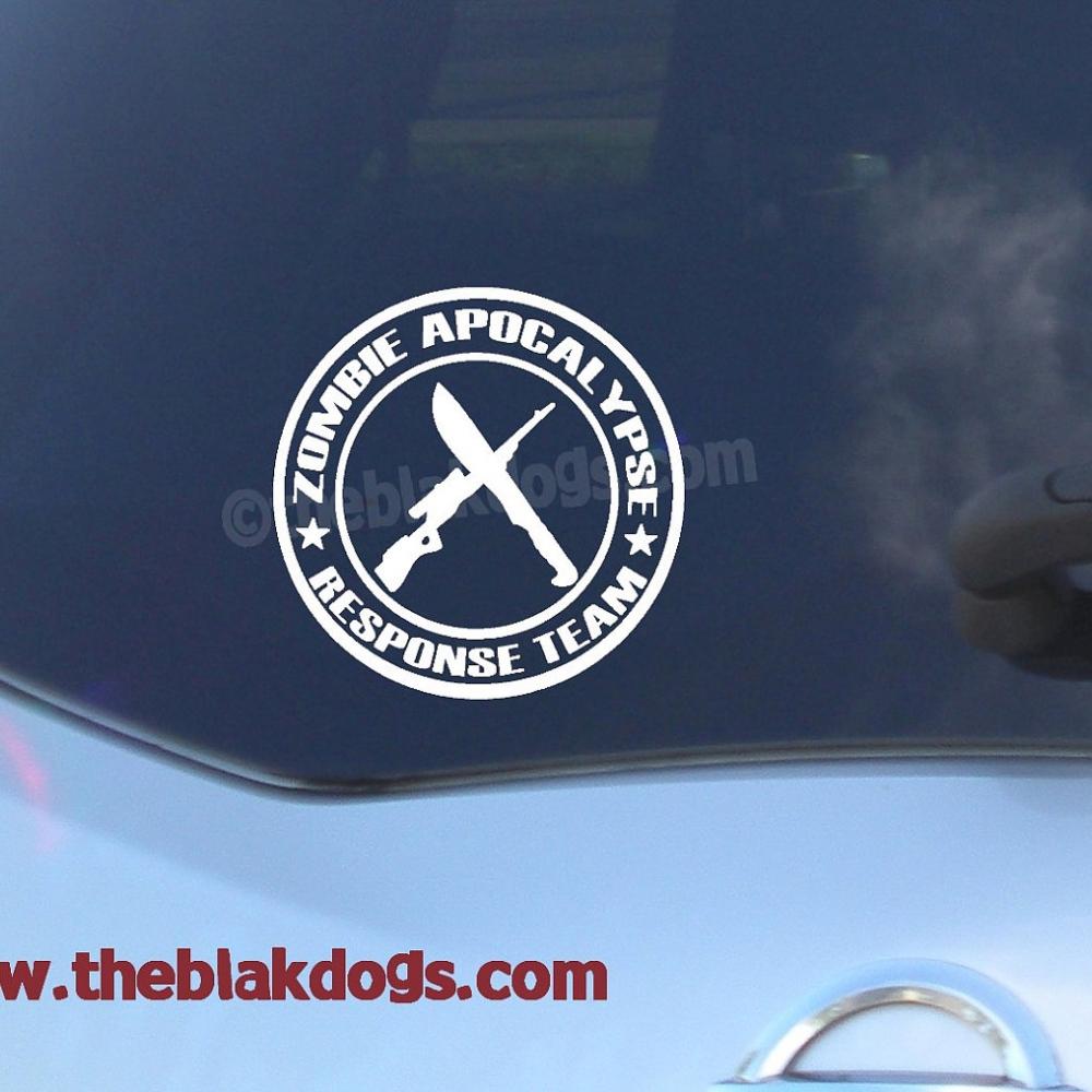 Zombie Apocalypse Response Team Vinyl Sticker Car Decal