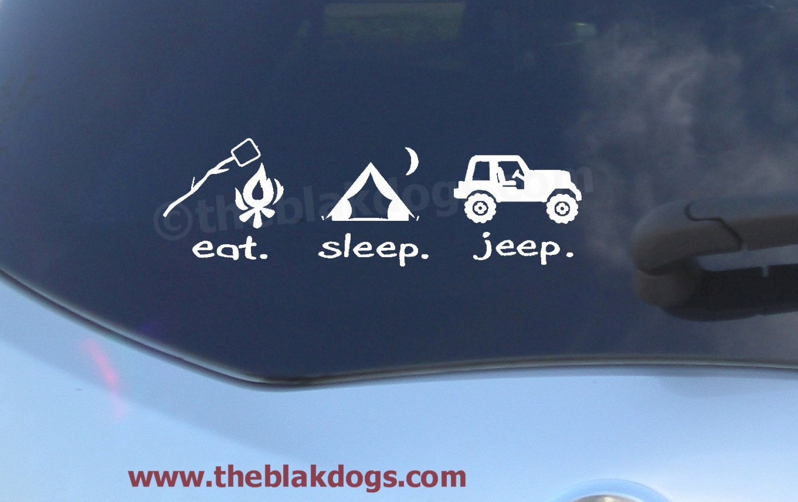 Eat Sleep Jeep Jeep Sticker Vinyl Sticker Car Decal