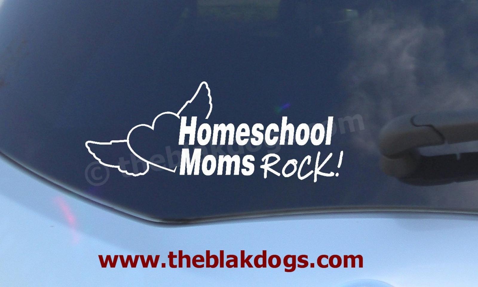 Car decal homeschool sticker zoom