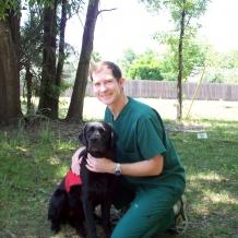 Hallie with Dr. Broadhurst