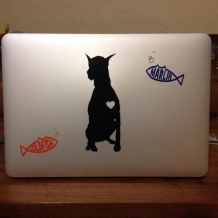 Custom stickers for laptop